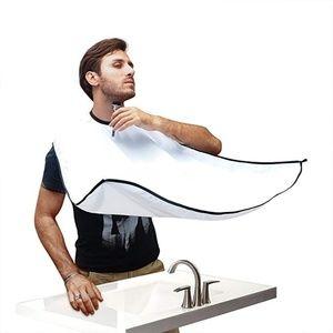 Beard Apron Hair Bib Catcher Shave Men Bathroom